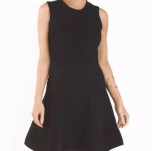 Torn by Ronny Kobo Textured Ribbed Dress in Black